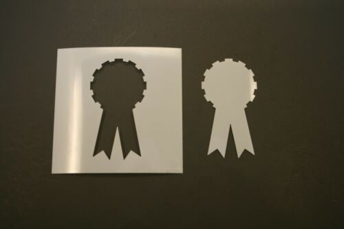 Award Ribbon Reusable Mylar Stencil Art Supplies