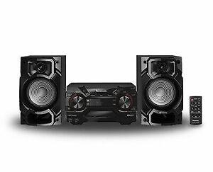 Panasonic Sc-akx220 Stereo System Bluetooth 110-220 Volt 450w Powerful Sound