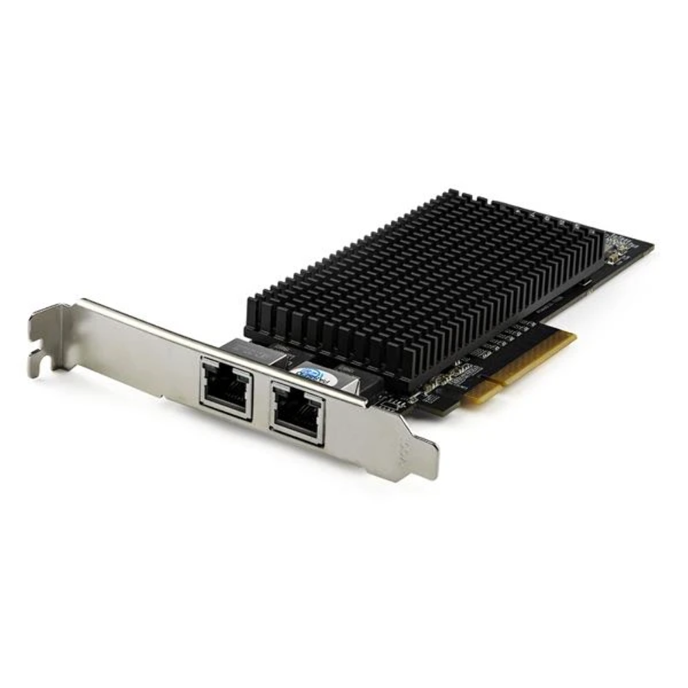 StarTech Dual-Port 10Gb PCIe Network Card with 10GBASE-T & NBASE-T