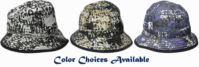 53d5e006c True Religion Men's Graffiti Print Bucket Hat -Color/Size Choices