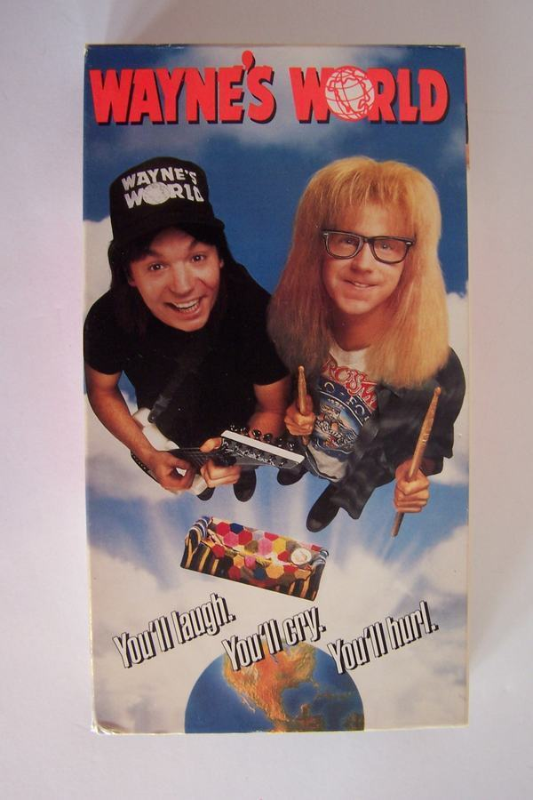 Wayne's World VHS Video Tape Movie Mike Myers