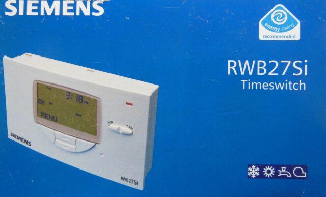 siemens rwb27si single channel heating programmer rwb 27 si ebay rh ebay co uk Owner's Manual Owner's Manual