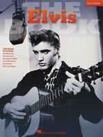The Elvis Book Sheet Music Easy Guitar 000702163