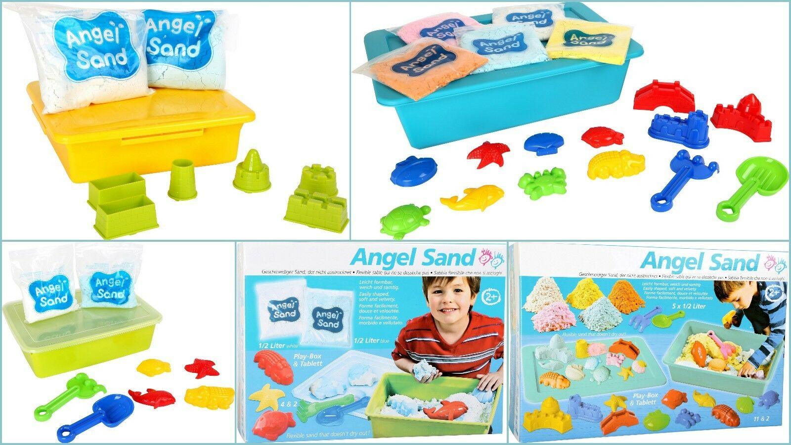 Kinetic Sand Clean Soft Dry Sand Sensory Activity Occupational Therapy Moldable