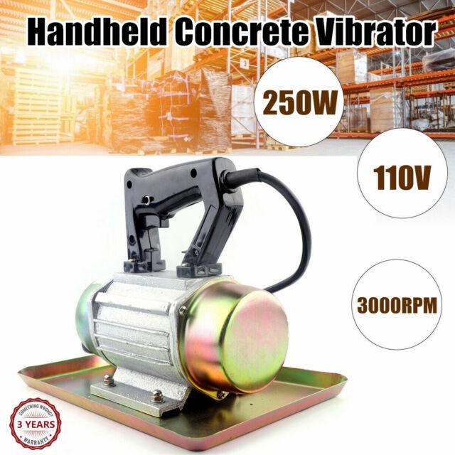 110V 250W Portable Hand-held Cement Vibrating Troweling Concrete Vibrator