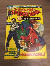 AMAZING SPIDER-MAN 129 1ST APP PUNISHER NICE SHAPE KEY NETFLIX