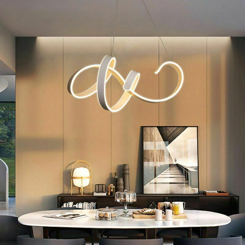 Modern Hanging LED Pendant Light For Kitchen Living Room Suspension Luminaire