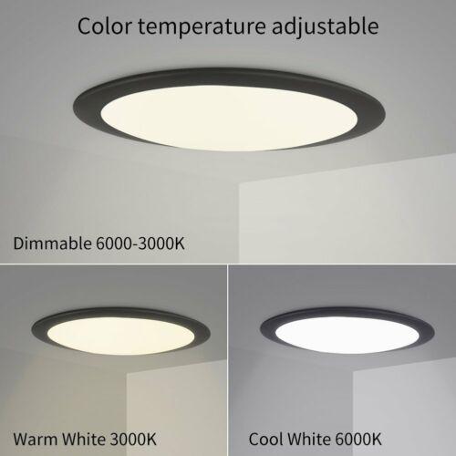 18W - 36W Dimmbar LED Deckenlampe Deckenleuchte Wohnzimmer Küchen Lampe DE