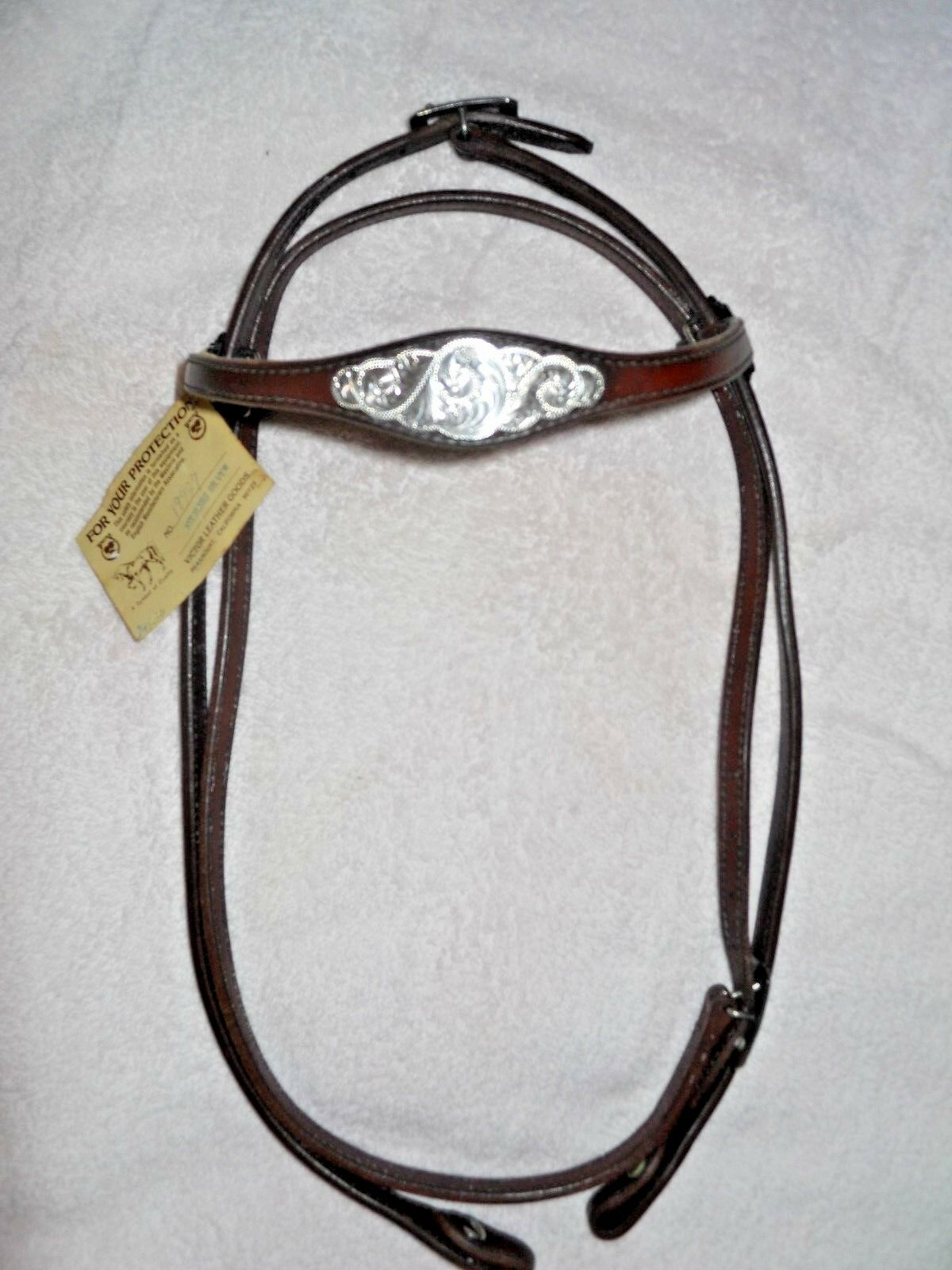 Victor Leather Goods Bridle NEW with  Tag   Rare     exclusive