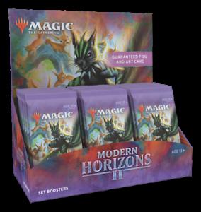 Modern Horizons 2 Set Booster Box - MTG Magic the Gathering - Brand New!