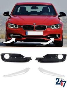 Nouvelle-BMW-Serie-3-F30-F31-11-15-Sport-Line-Pare-chocs-Avant-Brouillard-Lampe-Grill-Set-Complet