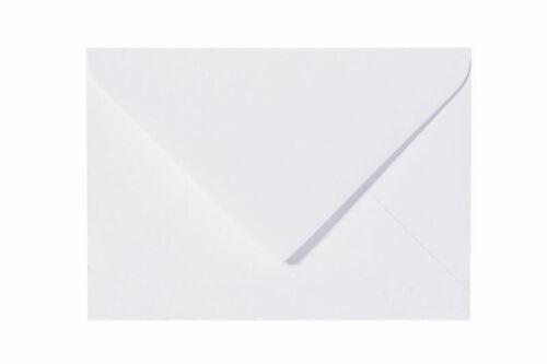 25 Briefumschläge C8 Weiß 57x81 5,7x8,1 Umschläge Briefumschlag Kuvert Kuverts