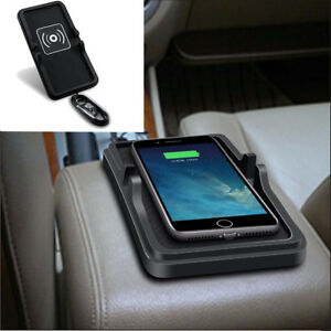 1x Wireless Car Interior Dashboard Phone Fast Charger Mount Holder Non-slip Pad