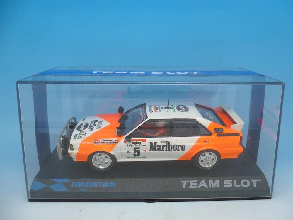 Team Slot 12203 Audi Quattrp A1, boxed unused