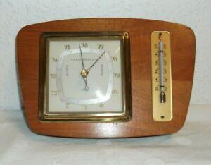 Scholz-Metereologica-Barometro-Termometro-optica-Ruhnke-Specialwerk-Vintage