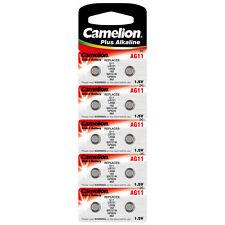 10x pila de botón relojes batería ag11-lr58-lr721-362 de Camelion