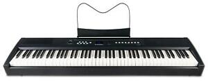 B-WARE-Digital-Stage-Piano-88-Tasten-Hammermechanik-E-Piano-Keyboard-Pedal-Rec