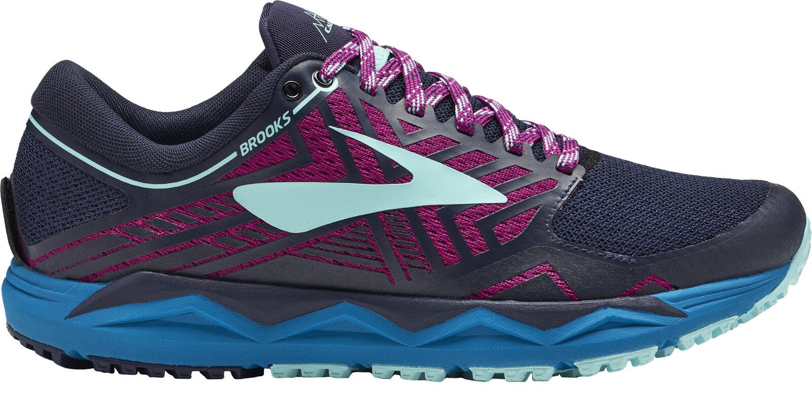 Brooks Caldera 2 damen Trail Running schuhe Navy All Terrain Offroad Run Trainer