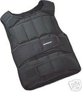 Weighted-Training-Jacket-25KG-Adjustable-Vest-Running-Boxing-Martial-Arts-MMA