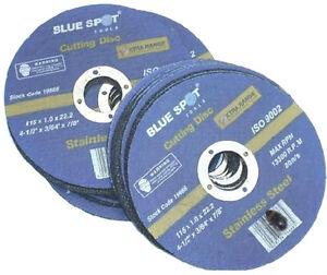 10-X-4-5-034-ULTRA-THIN-METAL-CUTTING-DISCS-115MM-1mm