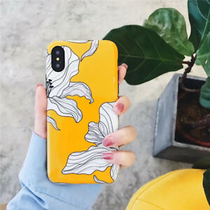 fe7c2e09a5 Glossy Petals Painted Phone Cases TPU Soft Silicone Case For Iphone ...