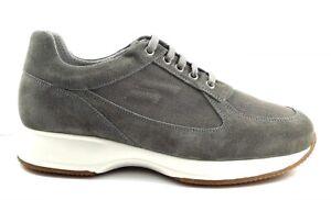 FRAU-24C4-ROCCIA-scarpe-uomo-pelle-camoscio-tessuto-sneakers-casual-interactive