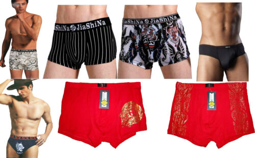 Mens selection of boxers and briefs in a multiple of colours in 2 pack 1 pack