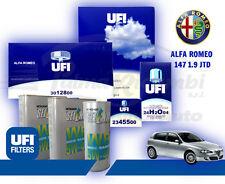 KIT TAGLIANDO OLIO SELENIA WR 5W40 + FILTRI UFI ALFA 147 1.9 JTD 120/150CV 2005>