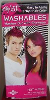 Splat Hair Hot 4 Pink Instant Color Day Temporary Women Men Washes Out