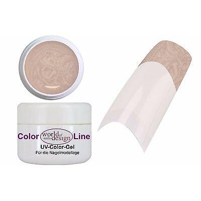 "5 ml. UV Gel ""Nude Star"" mit integriertem feinem Glitter, deckend, Full Cover"