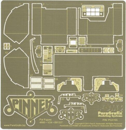 PGX155 Blade Runner Spinner Photoetch Set 1:24 Scale