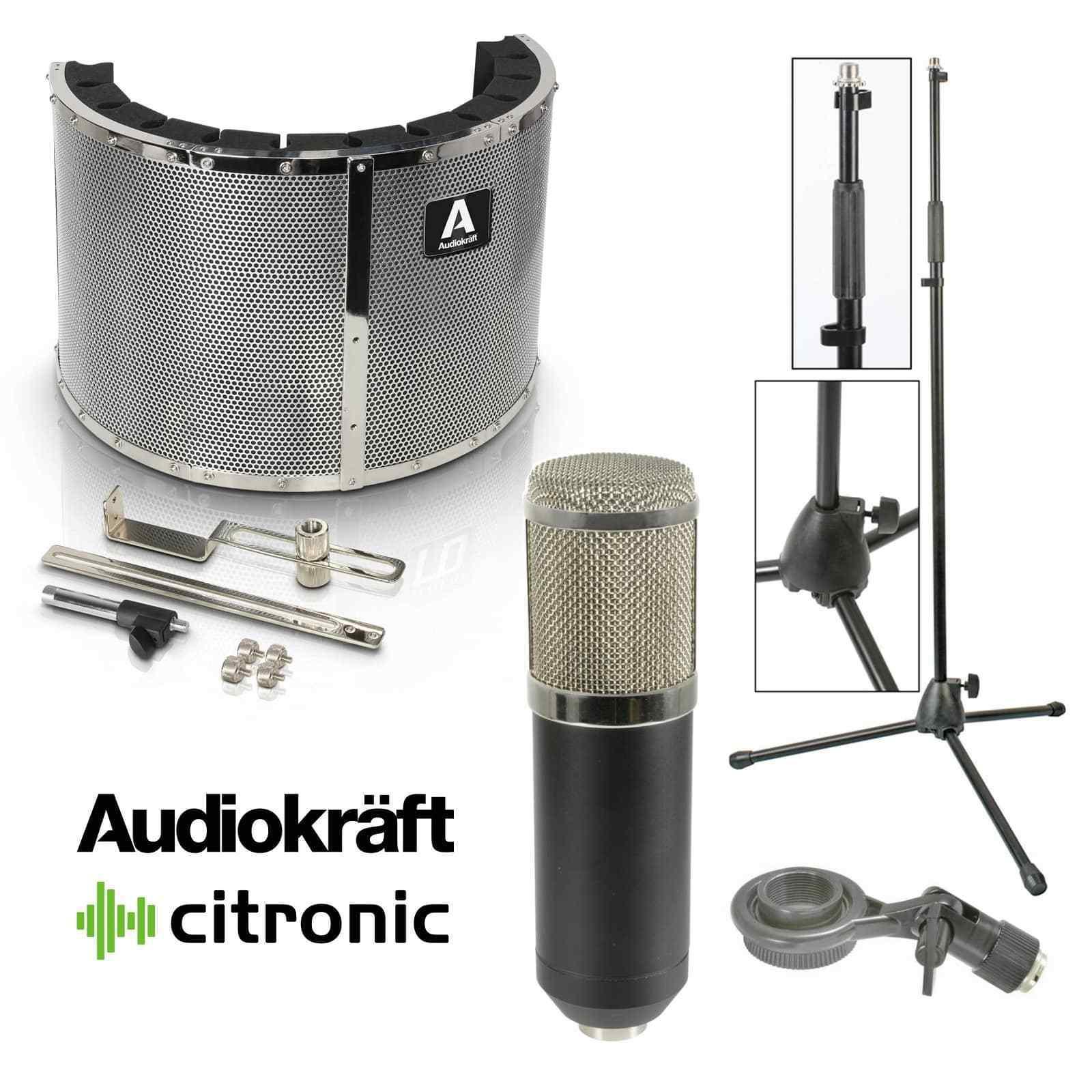 Inta Audio Vocal Recording Bundle