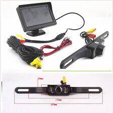 "Infrared Night Vision Reversing Camera Waterproof 4.3""TFT Screen Monitor Display"