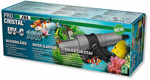 Jbl Procristal Uv-c 18W clarificateur d'eau haute performance