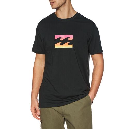 Billabong équipe Wave T-shirt homme-Noir Toutes Tailles