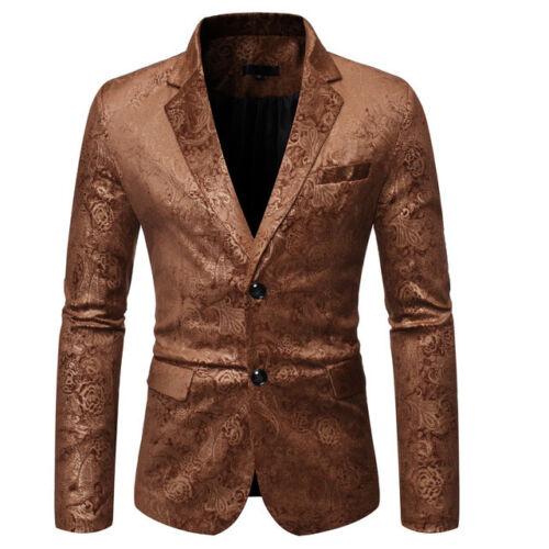 giacca smoking uomo elegante beige oro morbido bottone slim  uomo 1145