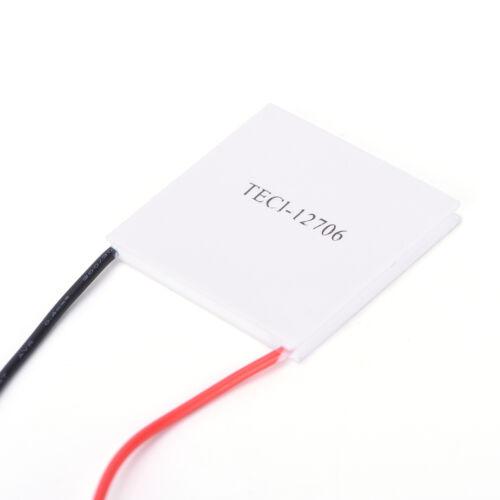 5 STÜCKE TEC1-12706 Kühlkörper Thermoelektrischer Kühler Peltier Plate ModuWLTE