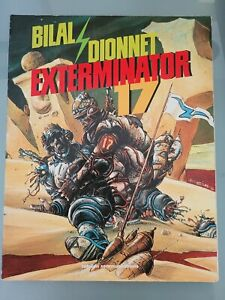EXTERMINATOR 17 GRAPHIC NOVEL 1988 CATALAN COMMUNICATIONS BILAL! HEAVY METAL