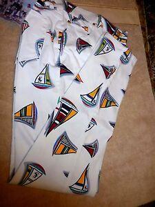 Nwt Escada Nautiques 44 Pantalon 14 12 600 Voiliers New Régate extensible Eu Fab Orq4H
