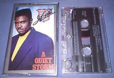 JEFF REDD A QUIET STORM cassette tape album T1929
