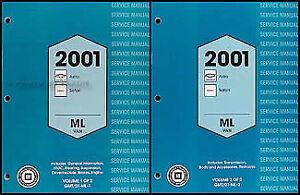 2001 chevy astro and gmc safari van shop manual set chevrolet rh ebay com Chevy Astro Interior 1990 Chevy Astro