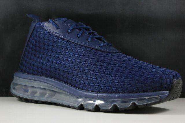 b6f96c36c4cc0 Nike Air Max Woven Boot Size 8 Mens Midnight Navy/Midnight Navy 921854-400