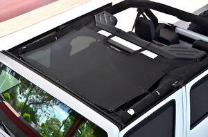 1987-2006 Jeep Wrangler /& Unlimited SpiderWebShade TrailMesh TJkini Top Black
