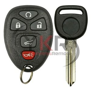 Details about OEM Factory Gm Remote Keyless Entry Fob + Transponder Chip  Key 5 Button OUC60270