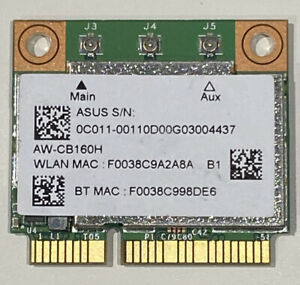 BroadCom-AW-CB160-BCM94360HMB-WIFI-HALF-PCI-E-Wireless-BT-Card-BT4-0-WLAN-W003