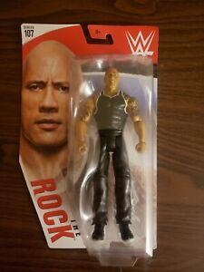 WWE Mattel The Rock Series 107 figure loose