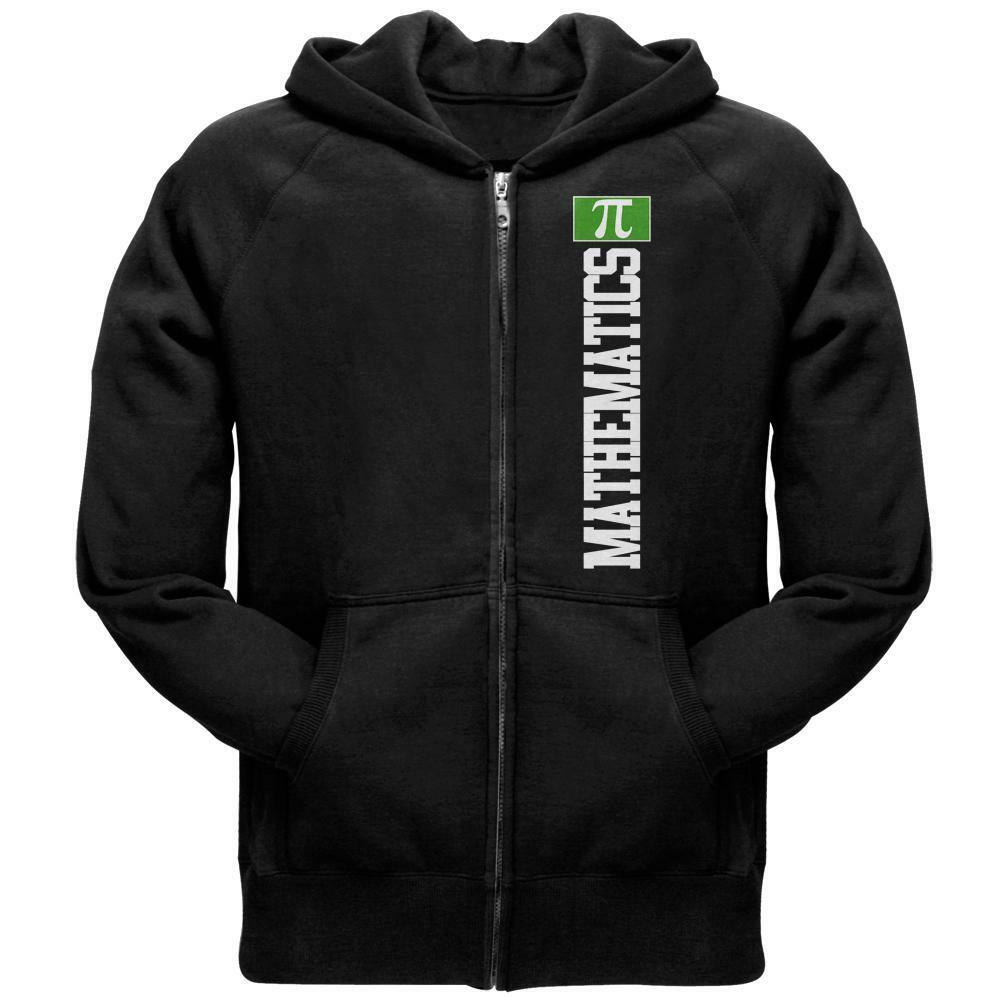 Mathematics Major Math Science Team Mens Full Zip Hoodie