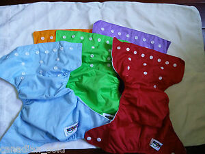 Baby Cloth Diapers cover pocket liner inserts Free shipping Canada Wholesale lot