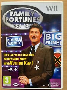Details about Family Fortunes TV Game Show Quiz Video Game for Nintendo Wii
