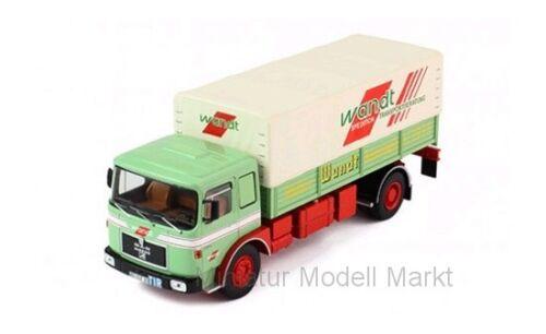 1975-1:43 #tru028 limitada Ixo Man Büssing 19.320